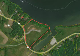 11.5 Acres Watts Bar Lakefront Residential Development Land